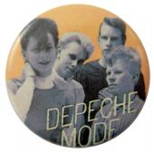 Depeche Mode - 'Group Blue Faces' Button Badge